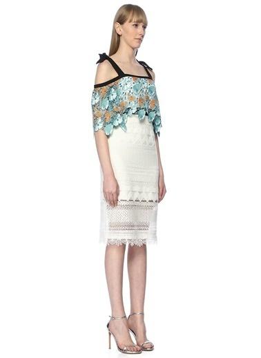 Floor Elbise Beyaz